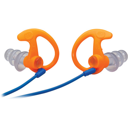 SureFire EP5 Sonic Defenders Max Earplugs (Large, Orange, 1 Pair)