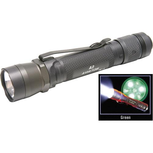 SureFire A2 Aviator Flashlight (OD Green)