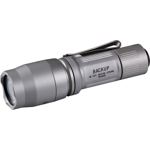 SureFire E1B Backup LED Flashlight (Silver)
