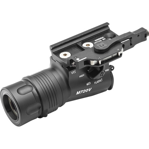SureFire M720V Raid WeaponLight - White and IR Output (Black)
