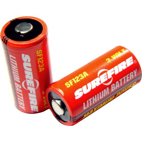 SureFire 6 Boxes of 12 SureFire SF123A Batteries