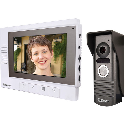 "Swann DB-815 High Resolution Intercom with 7"" Color LCD Screen"
