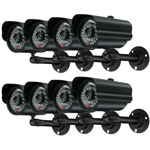 Swann Alpha C6 - Weather Resistant CCD 8 Camera Pack