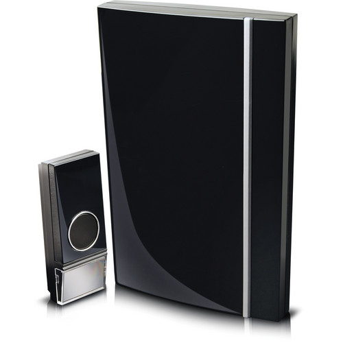 Swann Wireless Door Chime with Stylish Black Finish