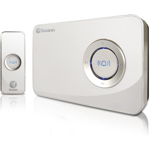 Swann Customizable Wireless Music Doorbell (90 MB Internal Memory)