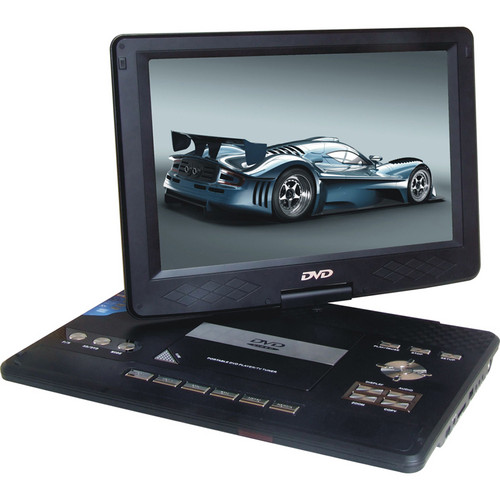 "Swari SPD-14B 14"" Portable DVD Player (Black)"