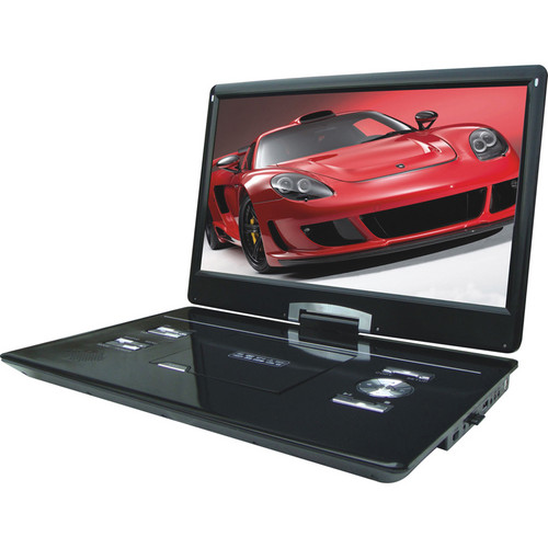 "Swari SPD-17B 17"" Portable DVD Player (Black)"