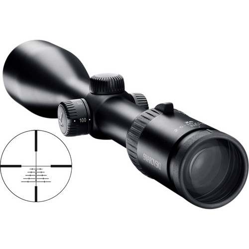Swarovski 2.5-15x56 P L Z6i 2nd Generation Riflescope (Matte Black)