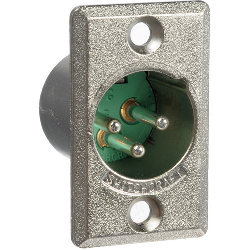 Switchcraft D3M 3-pin XLR Male Connector