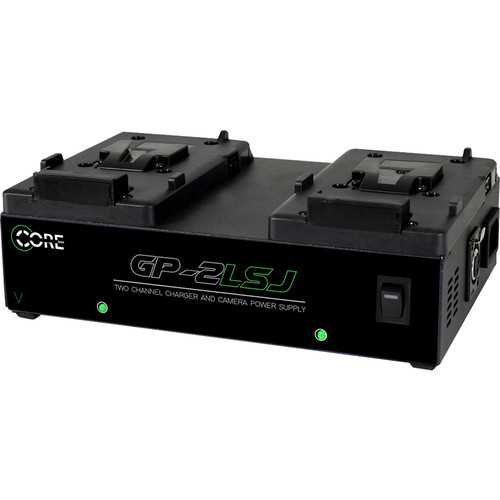 Core SWX GP-2LSJ 2-Bay V-Mount Simultaneous Charger