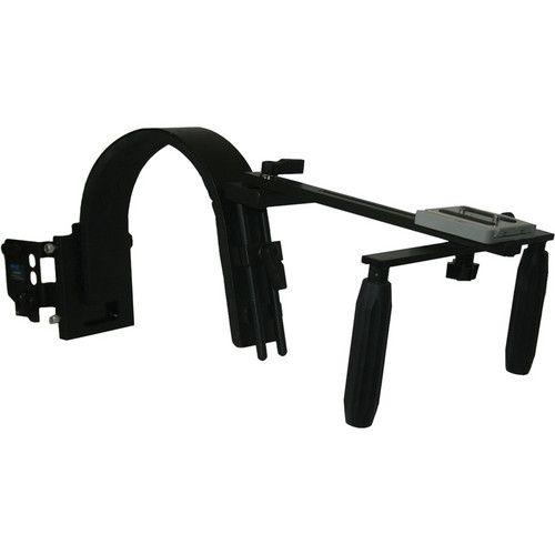 Switronix HDV-PRO/AS Shoulder Support with Battery & Microphone Receiver Mount