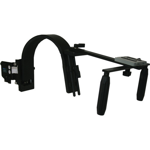 Switronix HDV-PRO/VS HDV/DV Camera Shoulder Support with V Plate & Mic Plate