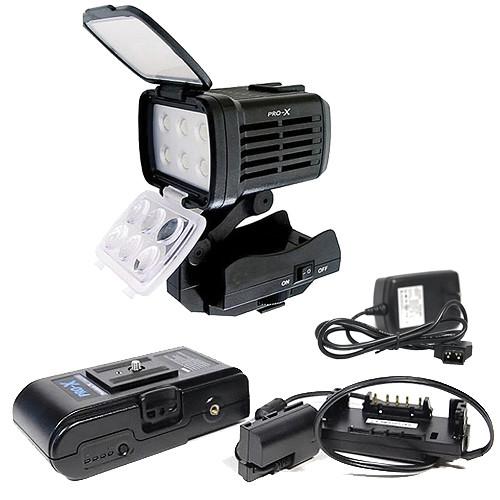 Switronix Power & Lighting Kit for Sony NEX-FS100U Camcorder