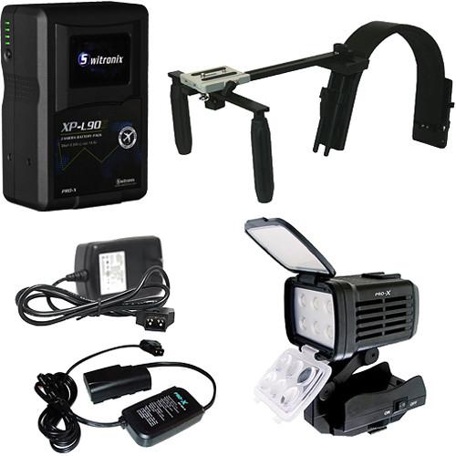 Switronix Sony HDV Handheld Battery & Light Kit