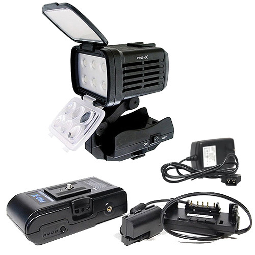 Switronix Switronix Power & On-Camera Lighting Kit for Sony PMW-F3 Camcorder