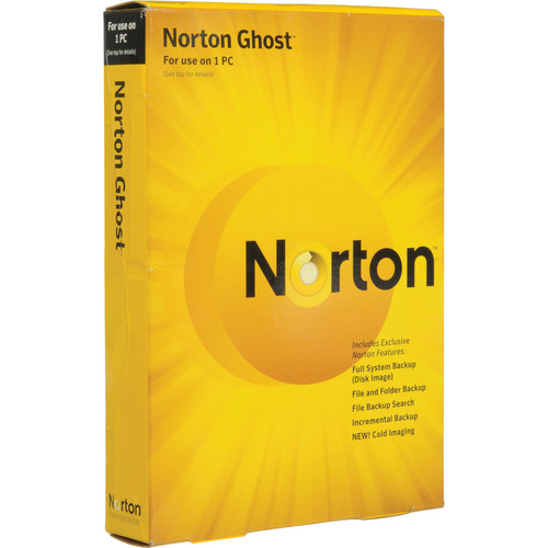 Symantec Norton Ghost 15.0 Software for Windows