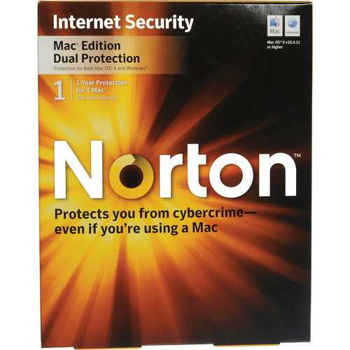 Symantec Norton Internet Security Dual Protection for Mac Software