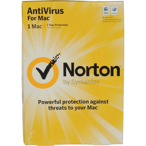 Symantec Norton Antivirus 12 for Mac (Single User License)