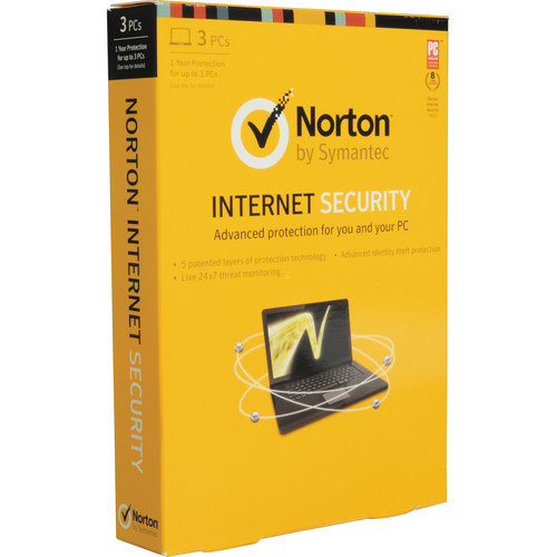 Symantec Norton Internet Security 2013 (Single User, 3 PCs)