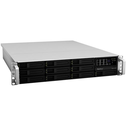 Synology RS2211RP+ RackStation 12-Bay NAS Server (White)