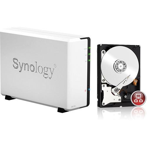 Synology 1TB DiskStation DS112 1-Bay NAS Server