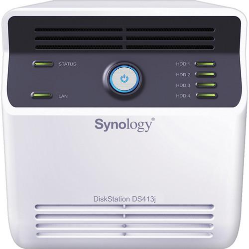 Synology DiskStation DS413j 4-Bay NAS Server
