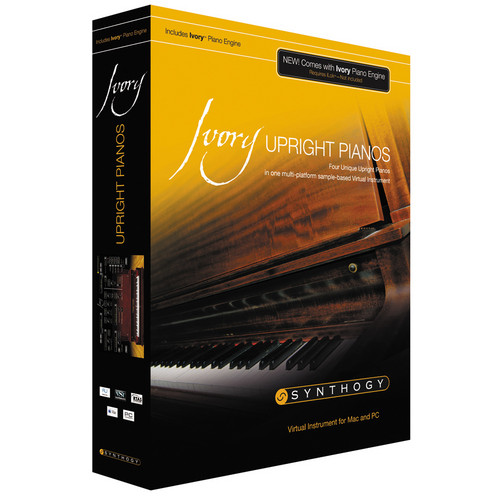 Synthogy Ivory II Upright Pianos - Virtual Instrument (Upgrade)