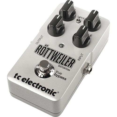 TC Electronic Rottweiler Distortion Effects Pedal