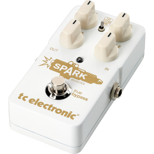 TC Electronic Spark Booster Overdrive and EQ Pedal