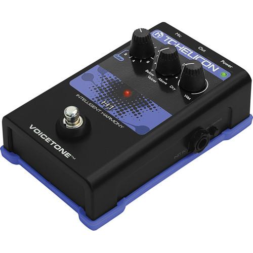 TC-Helicon VoiceTone H1 Intelligent Harmony Pedal