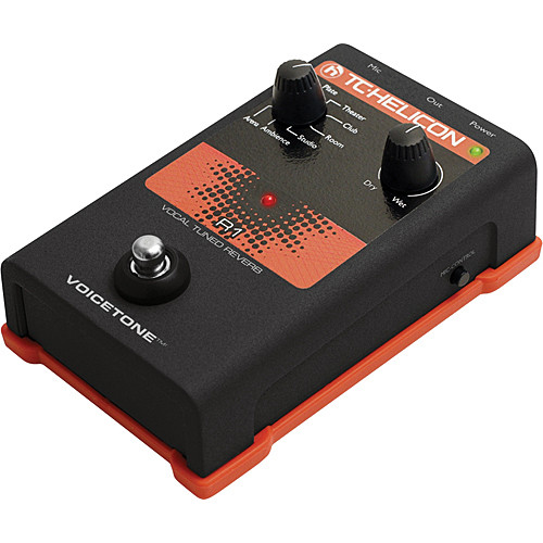 TC-Helicon VoiceTone R1 Vocal Tuned Reverb Pedal