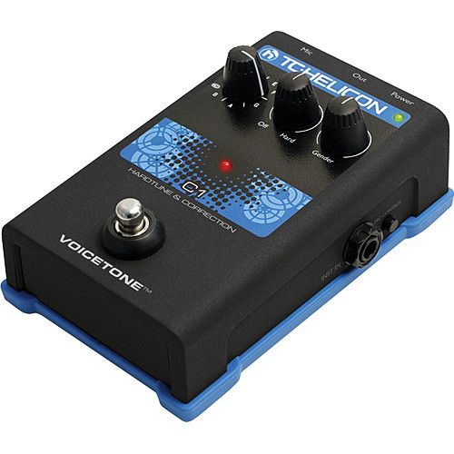 TC-Helicon VoiceTone C1 HardTune and Correction Pedal