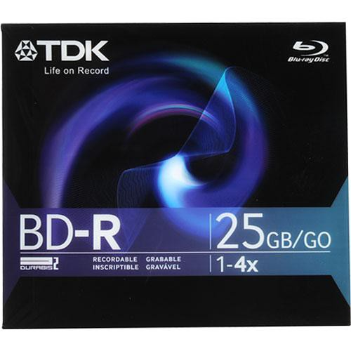 TDK BD-R-25B Blu-ray Recordable Disc