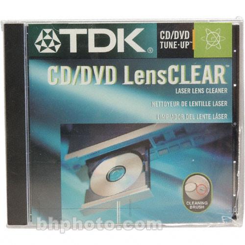 TDK CD/DVD LensCLEAR Laser Lens Cleaner CDC-LBHTG B&H Photo