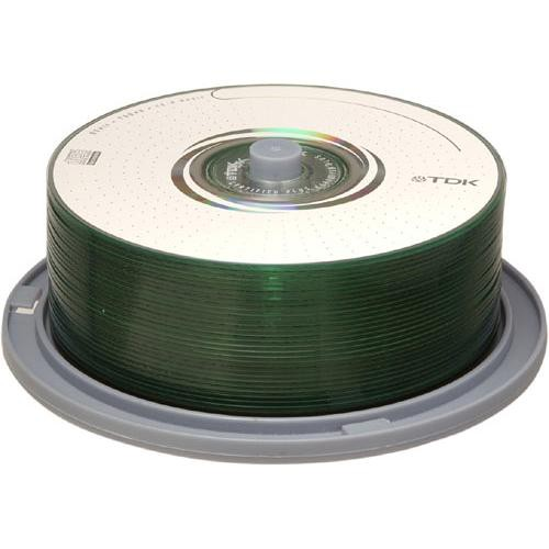 TDK CD-R 80 Minute Recordable Music Compact Disc (Spindle Pack of 30)