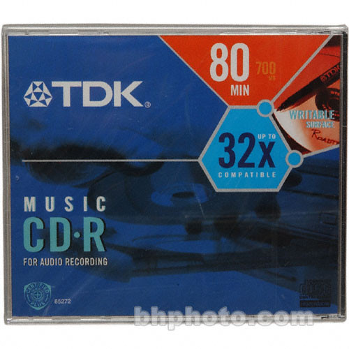 TDK CD-R 32x Music Disc