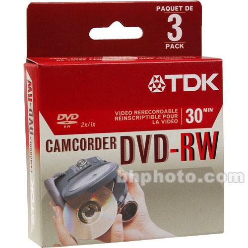 TDK DVD-RW14RGA Mini DVD-RW Disc (3)
