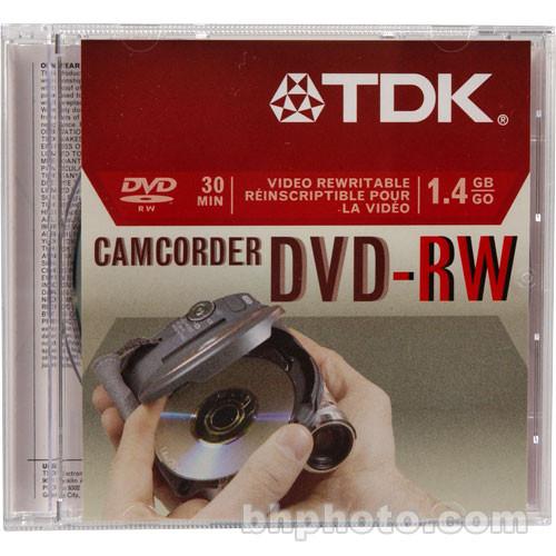 TDK DVD-RW14RGA Mini DVD-RW Disc (1)