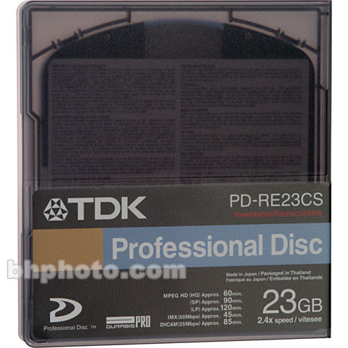 TDK XP23Q 23.3 Gigabyte Hard Disk Recording Medium