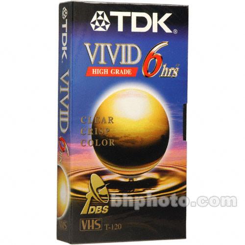 TDK T-120VI Vivid VHS Tape
