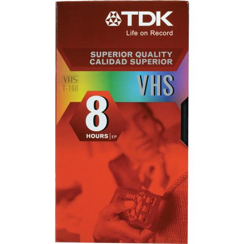 TDK T-160 Standard Grade VHS Tape