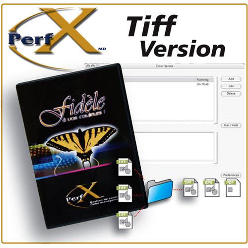 TGLC Color Management PerfX Color Server TIFF Software for Windows