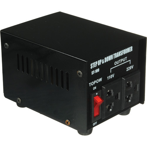 TOPOW ST-100 Step Up / Down Transformer (100W)