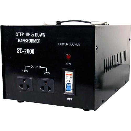 TOPOW ST-2000 Step Up / Down Transformer (2000W)