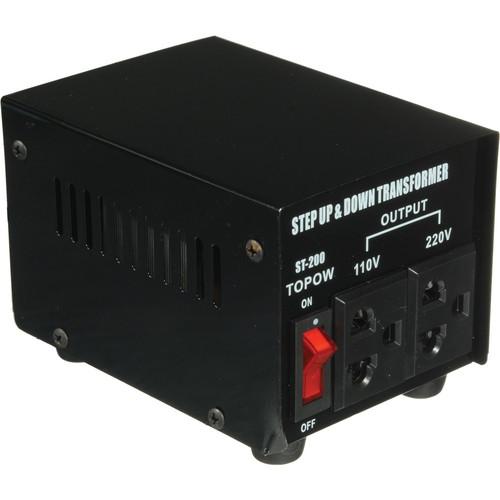 TOPOW ST-200 Step Up / Down Transformer (200W)