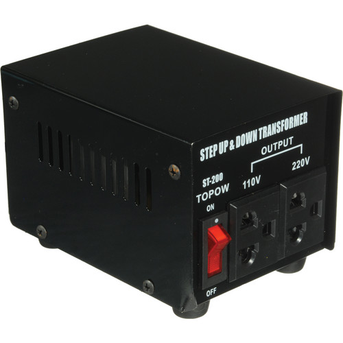 TOPOW ST-200 Step Up / Down Transformer (200W)