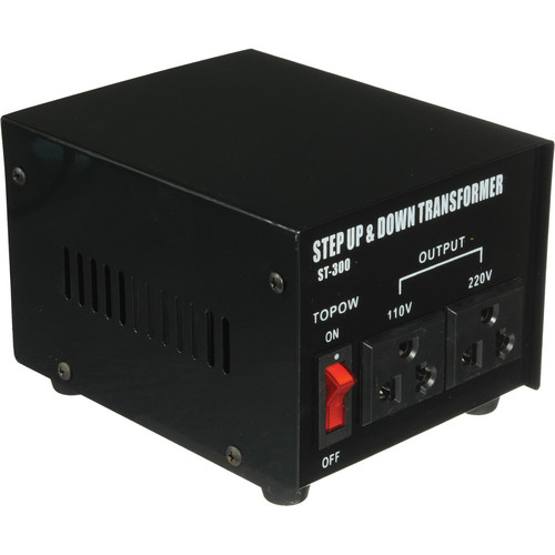 TOPOW ST-300 Step Up / Down Transformer (300W)