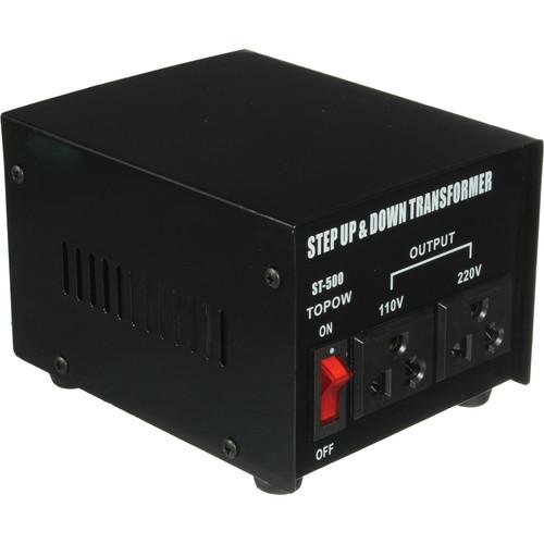 TOPOW ST-500 Step Up / Down Transformer (500W)