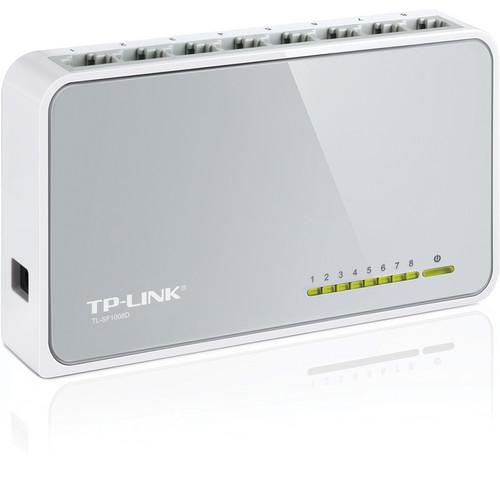 TP-Link 8-Port Unmanaged 10/100Mbps Desktop Switch