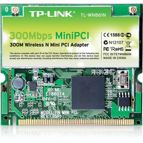 TP-Link TL-WN861N 300Mbps Wireless Mini PCI Adapter